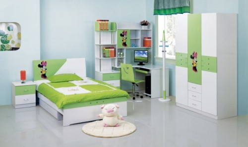 2011 Children Room Design with Interior Art