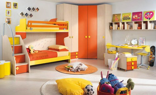 2011 Fun Children Room Design Art
