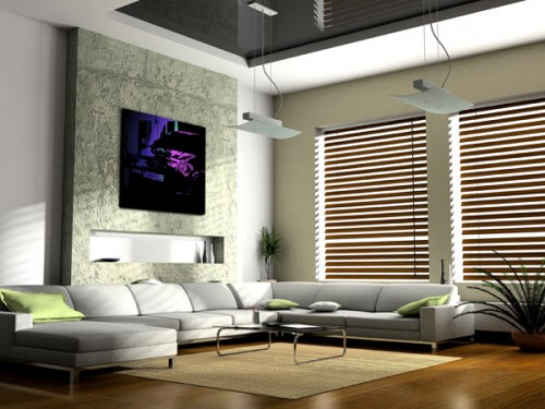 2011 Living Room Wall Design Inspiring