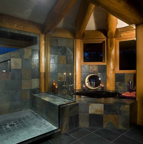 2011 Natural Stone Bathroom Designs