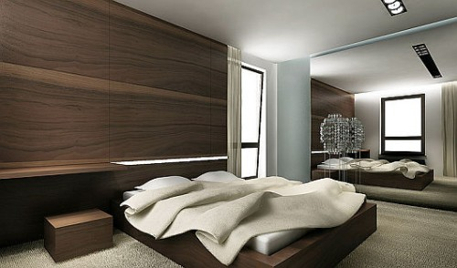 2012 Bedroom Interior Design Wallpaper