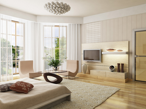2012 Interior Designs with Living Room Designs
