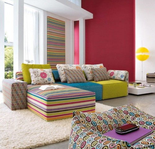 2012 Interior Designs with Various Color Ideas