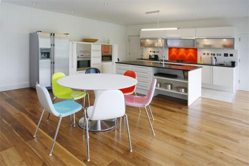 2012 Kitchen Designs with Combine Dining Room Art