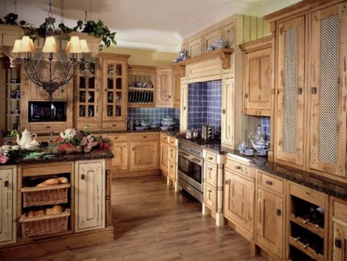 2012 Kitchen Designs with Luxurious Furniture