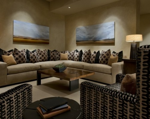 2012 Luxury Family Room Interior Designs