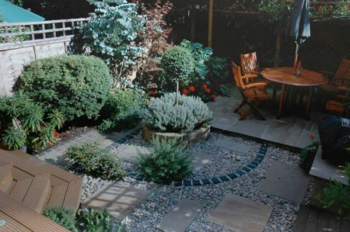 2012 Mediterranean Garden Designs for Home