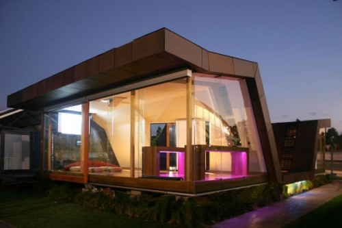 2012 Minimalist House Designs with Furniture Concept
