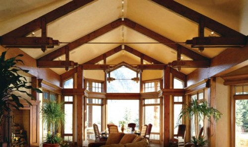 2012 Timber Frame Home Design
