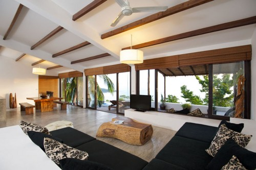 Amazing Tropical Living Room Ideas on 2012 Architecture