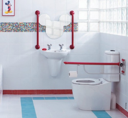 Beauty Children Bathroom Interior Designs