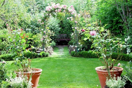 Beauty Green Home Garden Desigsn Ideas for 2012