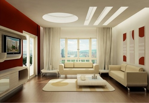 Beauty Living Room Art with 2012 Design Architect