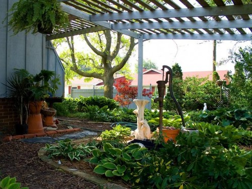 Best Home Garden with Green Setting Ideas