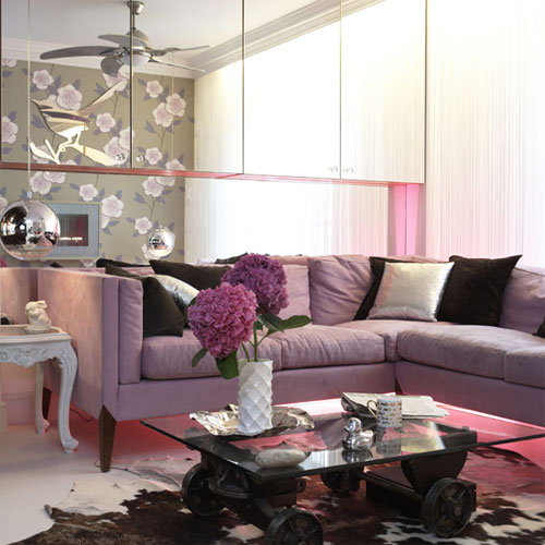 Best Purple Living Room Ideas Architecture