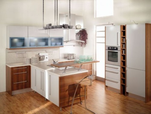 Best Wooden Kitchen Furniture Designs for 2011