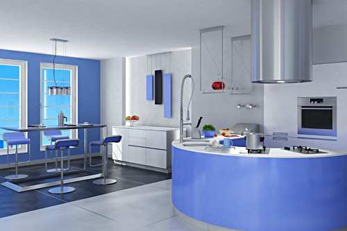 Blue Kitchens Designs in 2012
