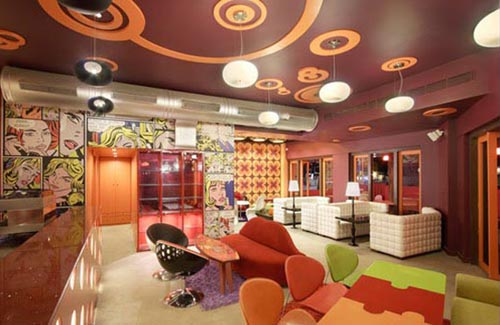Colorful Ceiling Home Inspiring Art
