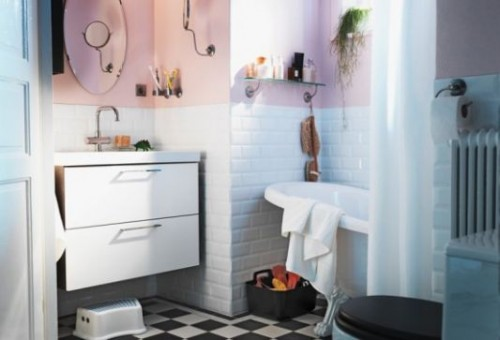 Cute Children Bathroom Desigsn