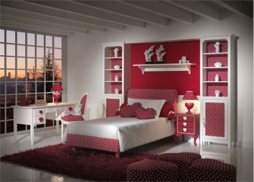 Cute Girls Bedroom Design Ideas Concept