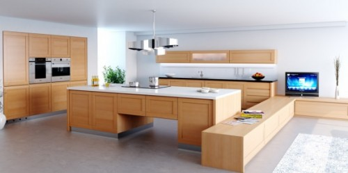 Designs Kitchen Artistic 500x249 Planning Kitchen The Beautiful and imitate