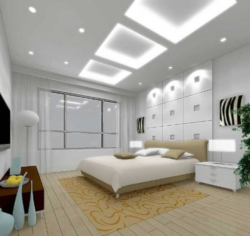 Elegant Ceiling Bedroom Design Art Ideas