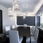 Elegant Dining Room Lighting Decorating Ideas 150x150 Luxury Lighting Dining Room Designs