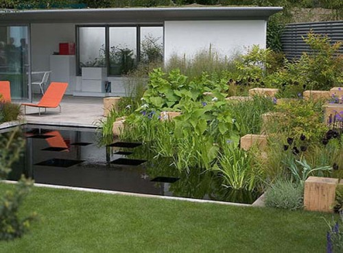 Elegant Garden Home Designs in 2011 Styles