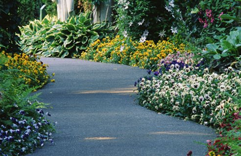 Elegant Pathway design ideas Amazing Garden Pathways Decorating Ideas