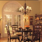 Elegant dining room lighting fixtures 150x150 Luxury Lighting Dining Room Designs