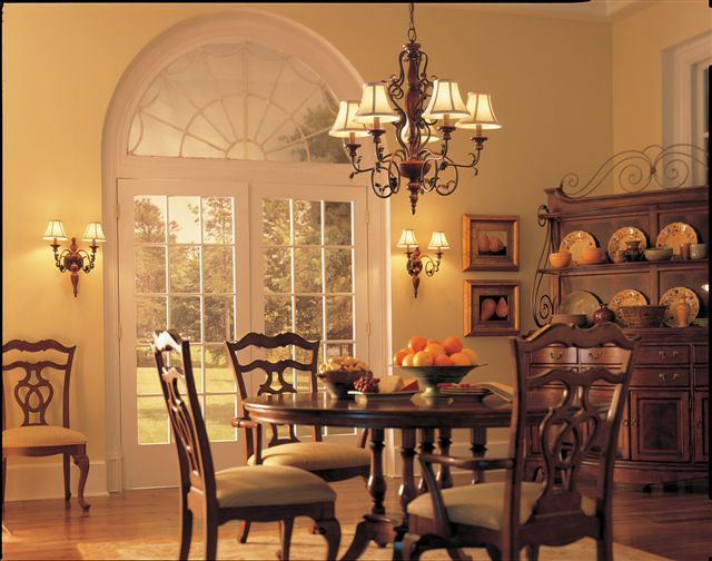 Elegant dining room lighting fixtures