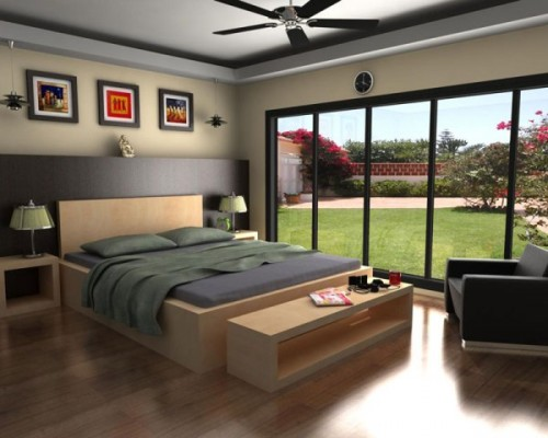 Europa Interior Designs for Bedroom Concept