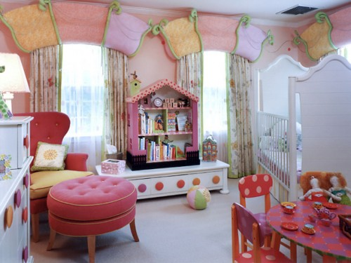 European Children Room Interior Architecture