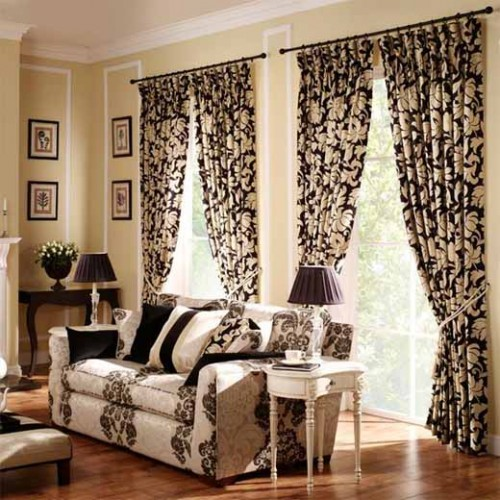European Curtain Window Design Trendy