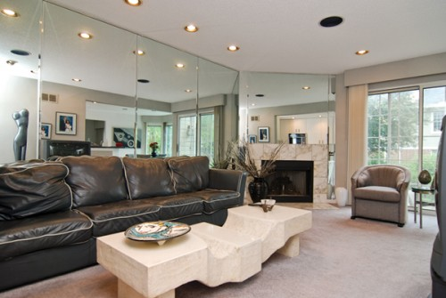 European Family Room Home Lighting Design for 2011