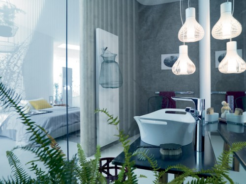 Excellent Bathroom Hanging Light Designs for 2011