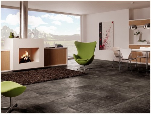 Excellent Ceramic Floor Designs for European Home Architecture