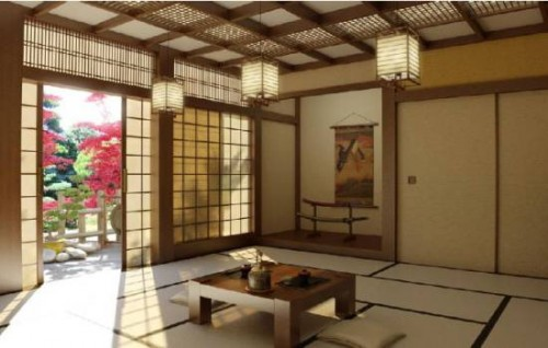 Excellent Japanese Interior Inspiring 500x318 Best Japanese Home Interior Design