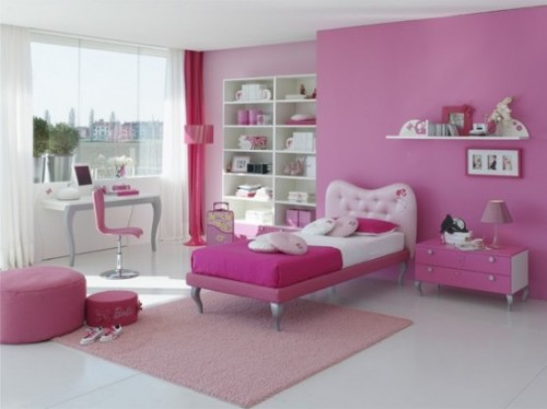 Fresh Girls Bedroom Design Concept Architecture
