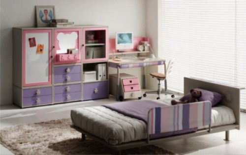 Girl Teen Study Room Design Concept