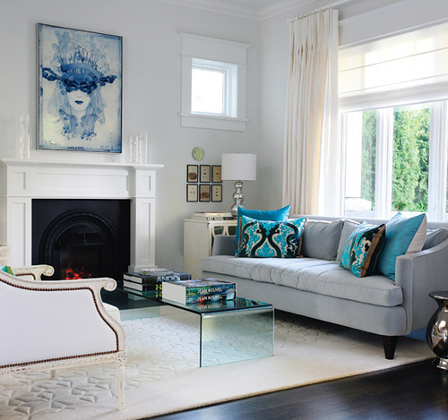 Great Blue Living Room Trends The Living Room Beautiful And Fresh!
