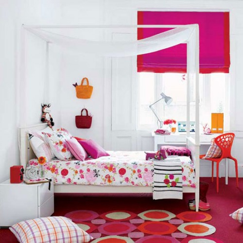 Great Teen Girls Bedroom Design Type
