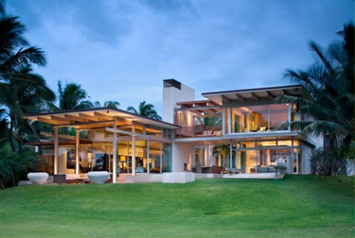 Great Tropical House for 2011 Architecture 500x335 Modern Tropical House Design Architecture