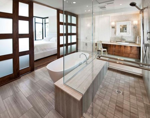 Japanese Simple Bathroom Designs
