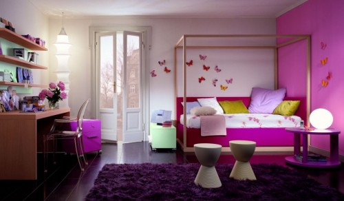 Luxurious Child Bedroom Designs Artistic 500x292 Tips On Determining the Color Childrens Room