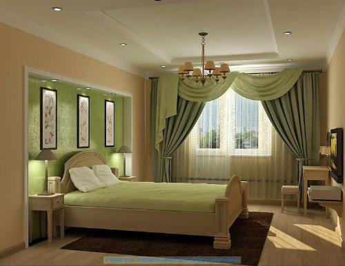 Luxurious Curtain Bedroom Designs for 2011