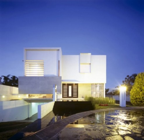 Luxurious Minimalist House Designs Concept Ideas in 2012