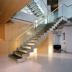 Luxurious Wood Stairs Inspiring Design 150x150 Elegant Modern Wood Stairs Home Design
