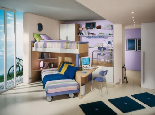 Luxury Kid Room Design Art
