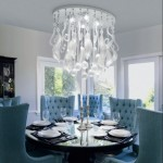 Luxury Lighting Dining Room Designs 150x150 Simple Lighting Dining Room Picture